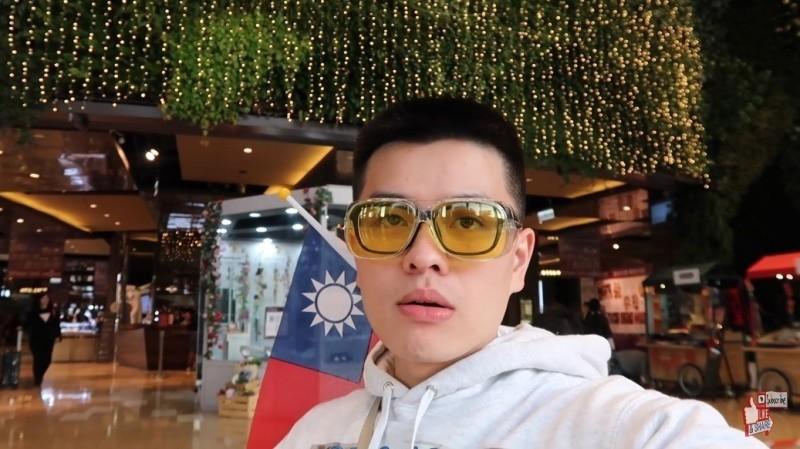李興文兒子李堉睿(圖)新影片涉違選罷法,再度引起爭議。(翻攝自YouTube)