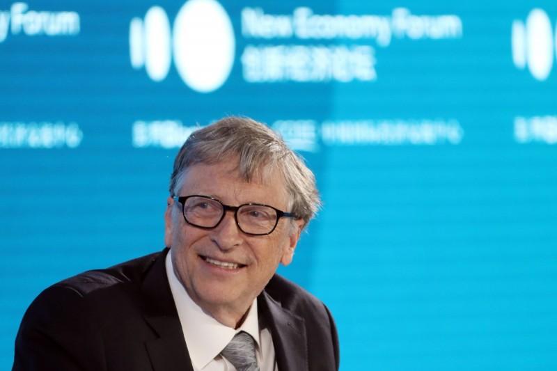 微軟集團創辦人比爾蓋茲日前發文呼籲政府對富豪多收稅。(彭博)