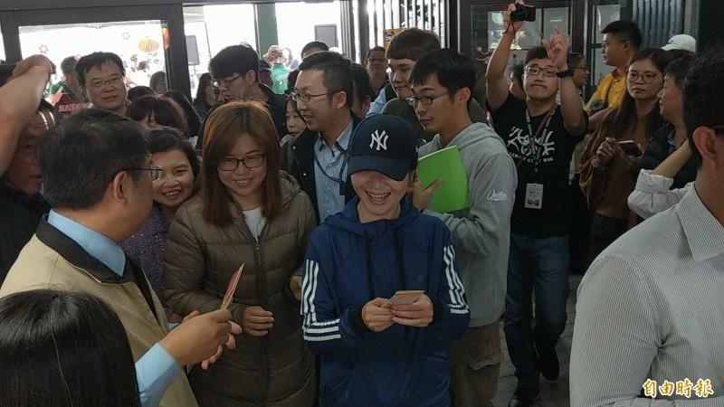 台南轉運站啟用,首個重大節慶挑戰將是春節返鄉潮。(記者劉婉君攝)