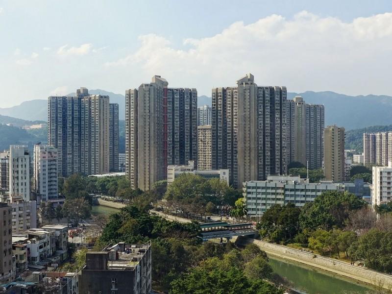 發生最新墜樓事件的新界大埔太和屯公屋。(圖擷取自維基百科/Tai Wo Estate)