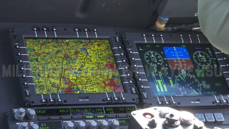 黑鷹升空至4000英呎的高度飛越梅山地區時,戰術地圖則由紅色轉變為黃色。(圖由Military Filmmaker - Wayne Hsu提供)