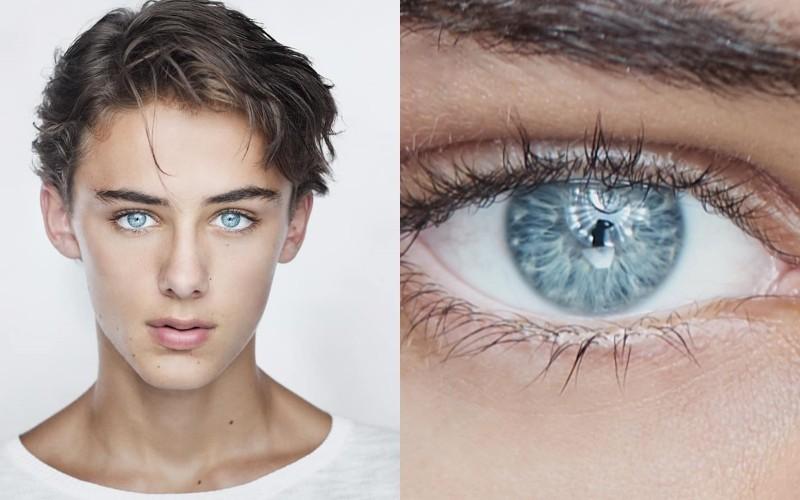 威廉米勒擁有一雙如鑽石般的碧藍眼睛。(圖擷自Instagram@william.franklyn.miller)