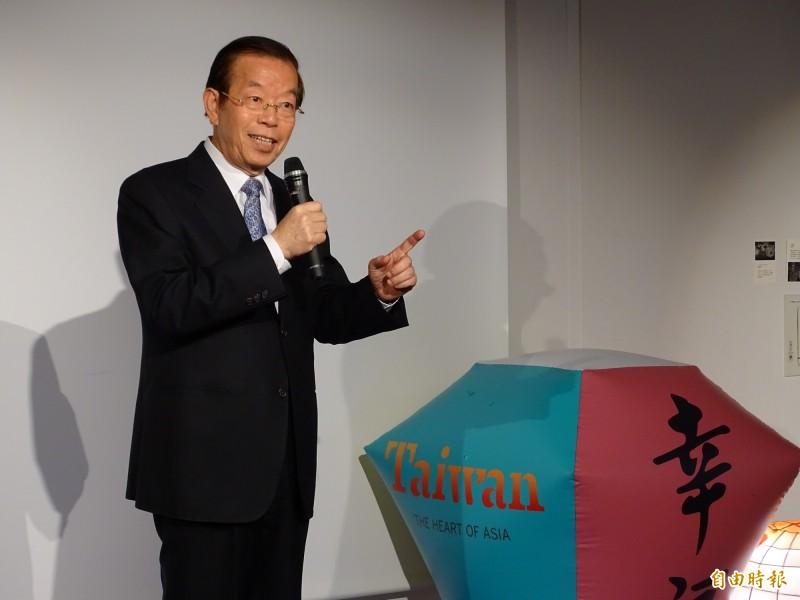 駐日代表謝長廷表示,他上一次遇到楊蕙如是在世界棒球12強賽,不過那天楊蕙如是和韓國瑜太太一起看棒球。(資料照)