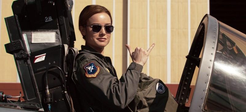 美國空軍搭配《驚奇隊長》播放招募廣告取得空前成功,2023年女性報考空官人數可達到整體考生31.2%。(美聯社)