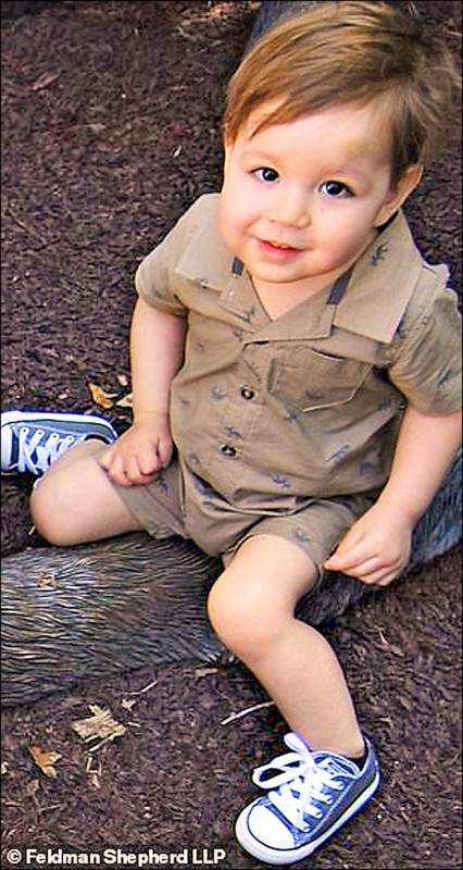 IKEA抽屜櫃導致2歲男童約瑟夫‧杜迪克死亡案,在美國創下史上兒童不當致死案的最高和解金(4600萬美元)。(取自網路)
