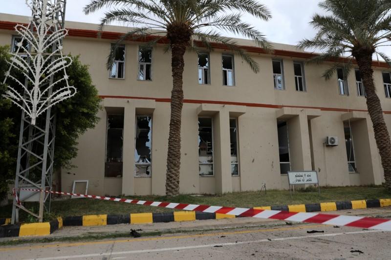 利比亞首都的黎波里遭轟炸,至少30死。(路透)