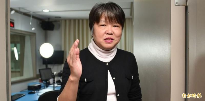 黃光芹因在臉書發表《你不知道的韓國瑜》系列專文,被韓國瑜控告妨害名譽。(資料照)