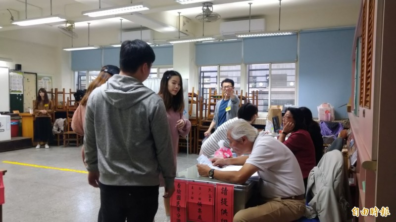 素有選情「章魚哥」的台北市北投區天玉里,開票結果成為各界關注焦點。(記者蔡亞樺攝)