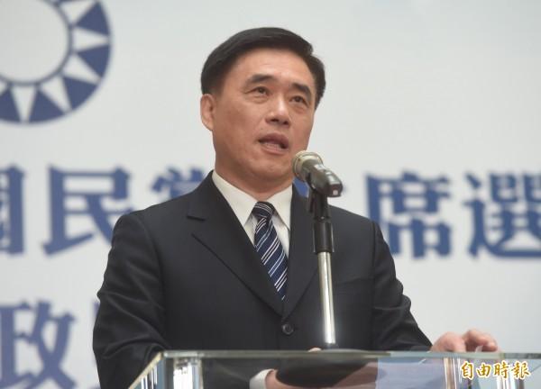 郝龍斌已經宣布辭去副黨主席職務,並強調國民黨唯有「打掉重練」才能重獲新生。(資料照)