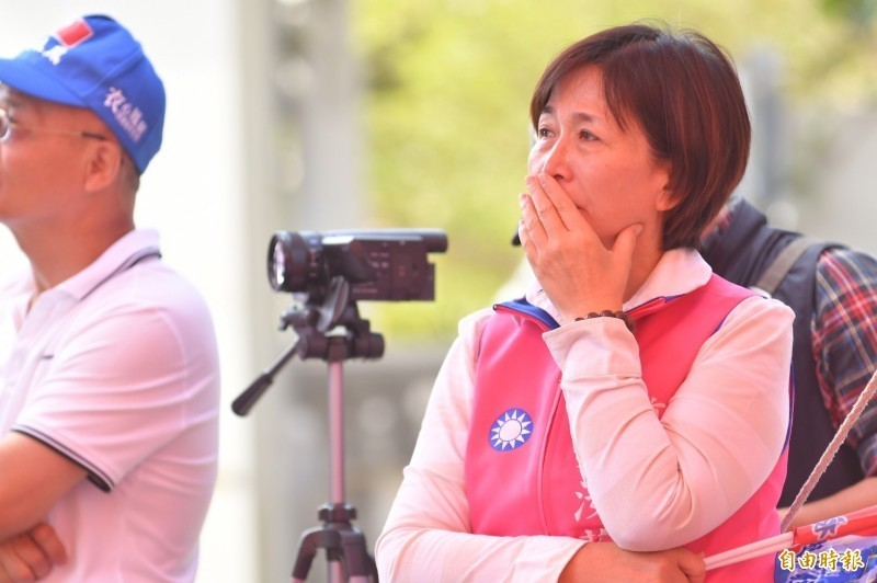 鄭汝芬(見圖)2016年立委選舉中「大意失荊州」,這次女兒謝衣鳳勝選,成功為她復仇。(資料照)