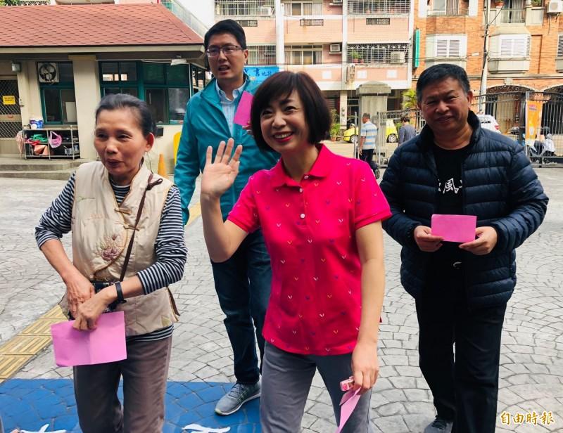 台中市民進黨立委候選人何欣純以14萬9538票,超越去年的得票王王定宇,成為本屆立委選舉的全國第一高票。(資料照)