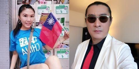 劉樂妍、黃安今年大選都沒回台投票,劉人在山西、黃待在北京。(左圖取自劉樂妍臉書,右圖取自黃安微博)