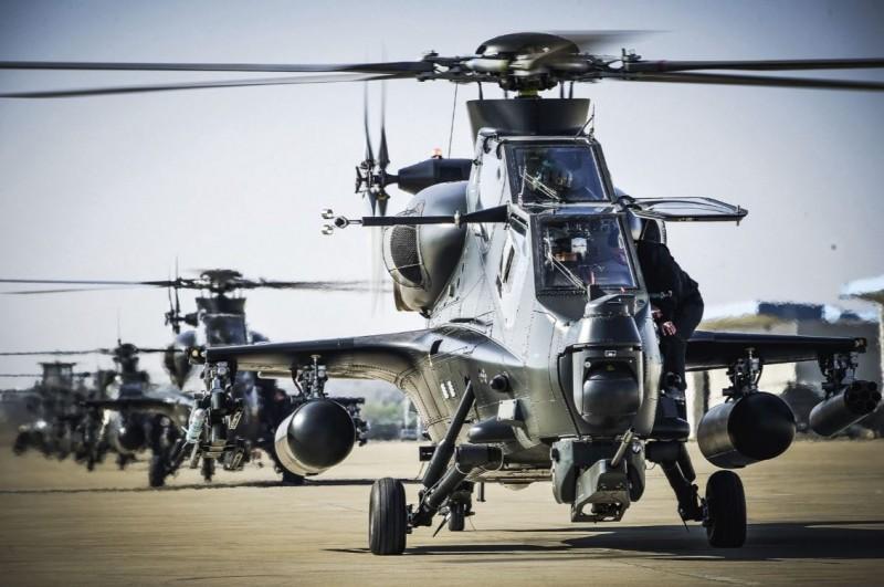 中國解放軍東部戰區第73集團軍陸航部隊在台灣大選日發布「開戰訓令」。(圖擷自新華社)