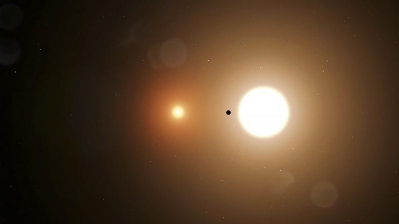 美國一名17歲高中生庫基爾去年暑期前往太空總署(NASA)實習,上班第3天就發現了一顆全新行星「TOI 1338 b」。(法新社)