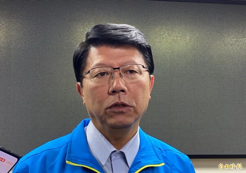 謝龍介表示,選後最重要的是,如何把國民黨改造成更貼近民意。(記者蔡文居攝)