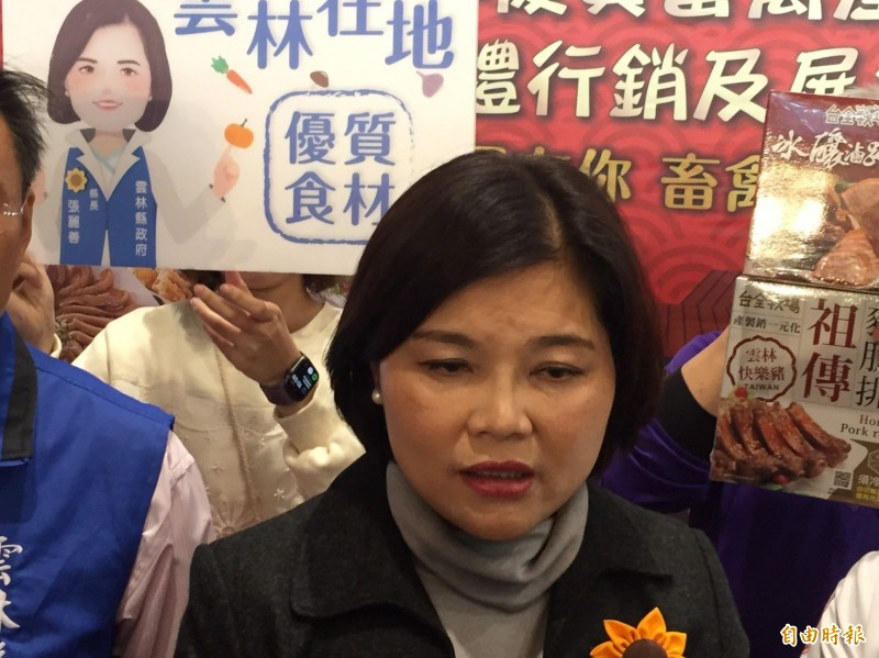 選後國民黨如何面對「九二共識」,雲林縣長張麗善說,中華民國本來就是一個獨立的國家。(記者詹士弘攝)