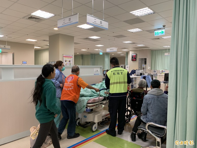 新竹縣今年過年7天連假,除台大生醫分院還沒開辦急診,其他各院急診全年無休。(記者黃美珠攝)