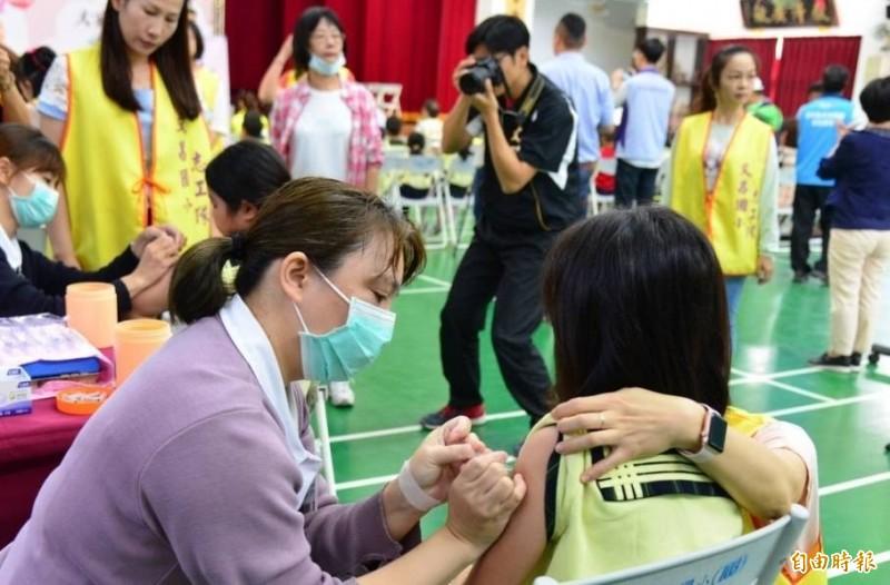 雲林縣7家醫院春節期間開設類流感特別門診。(記者鄭旭凱攝)