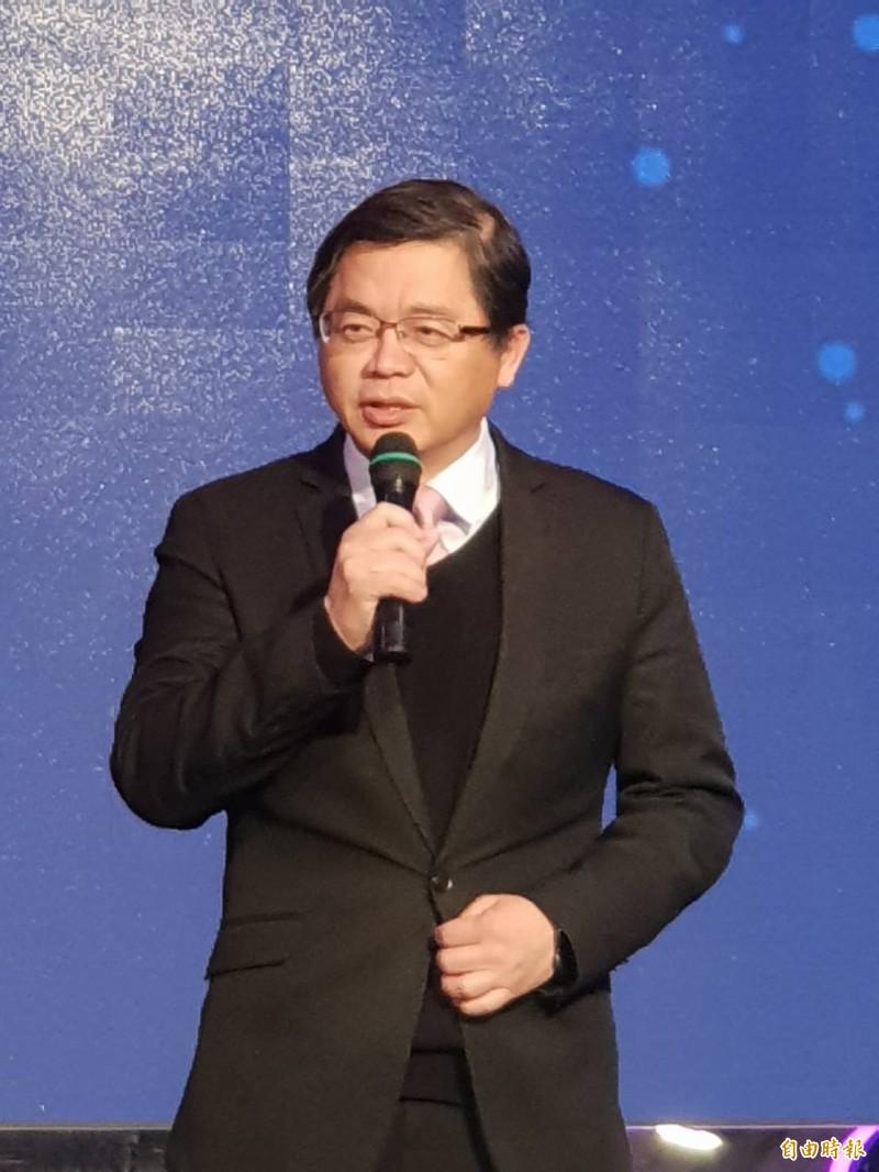 行政院長蘇貞昌指示政院秘書長李孟諺(如圖)代表他出席行政院年終感恩餐會。(記者李欣芳攝)