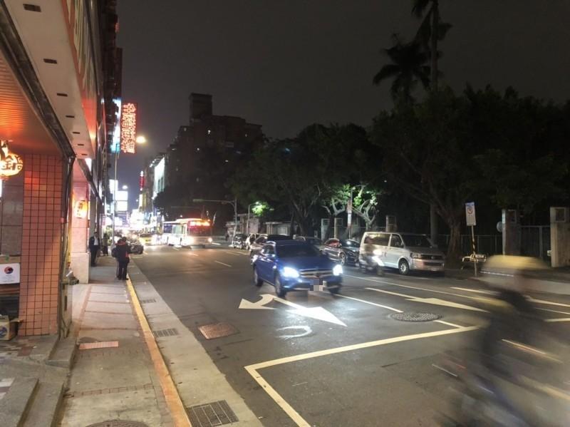 李男在台北市多處犯案。(記者王冠仁翻攝)