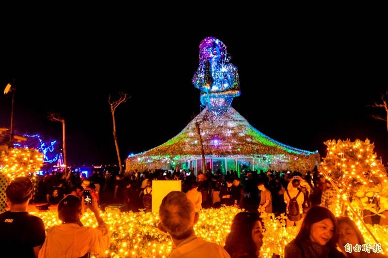 台灣燈會對屏東觀光形象有顯著提昇。(資料照)