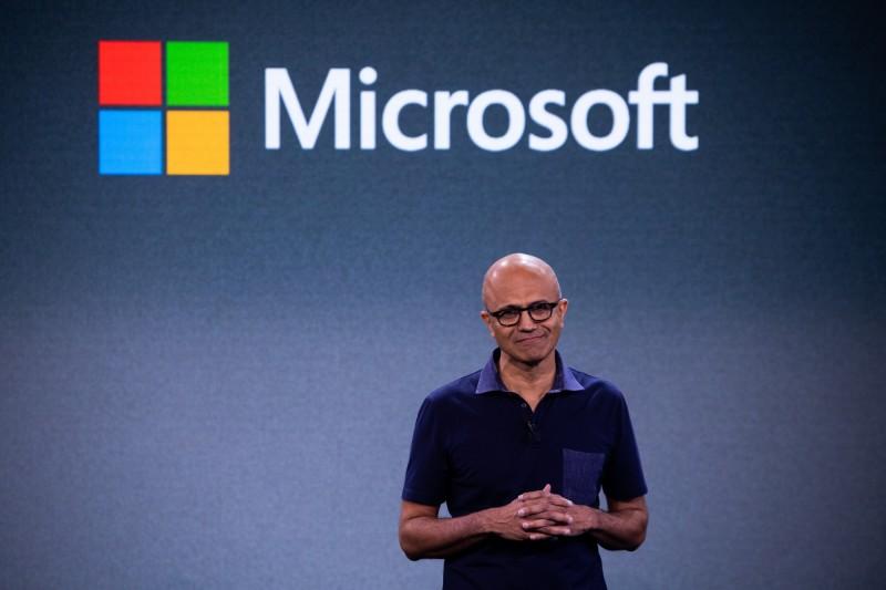 微軟執行長納德拉為印度裔美國人,對印度公民法修正案感到難過。(彭博)