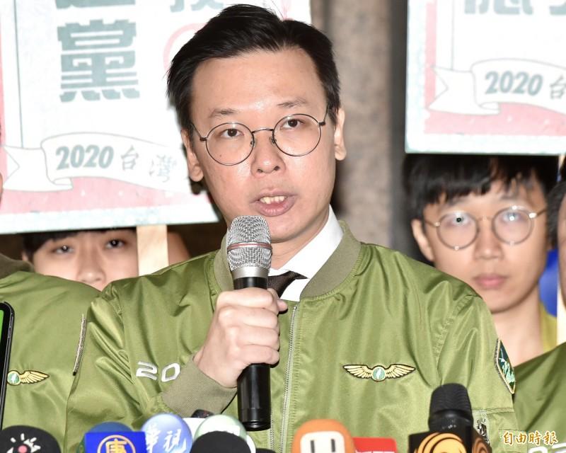 民進黨副秘書長林飛帆認為,這次總統蔡英文能夠獲得壓倒性勝利,主要有3大因素。(資料照)