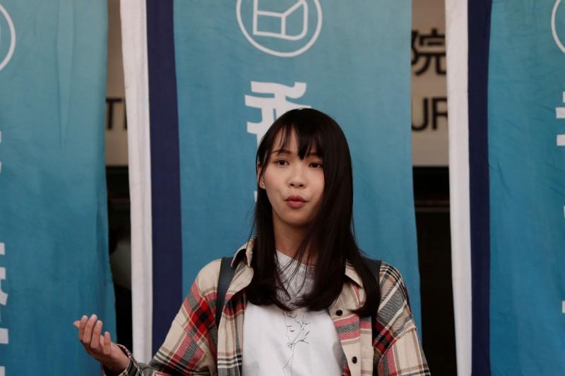 日本民主運動人士周庭接受日本產經新聞專訪,表示將繼續為香港普選等民主主義而戰。(路透)