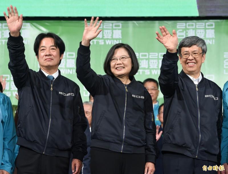 在中國持續打壓台灣的情況下,總統蔡英文仍壓倒性勝選順利連任。「華盛頓郵報」今天刊登專文「習近平的台灣夢幻滅」,說明習的統一大夢在台灣的選舉中遭到挫敗。(資料照)