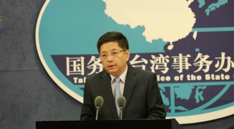 民進黨贏得大選,被問到中國網路主張「武力統一台灣」的聲音迅速升高,中國國台辦發言人馬曉光今天在例行記者會表示,民進黨當局和「台獨」勢力應該嚴肅思考一下。(圖取自網路)