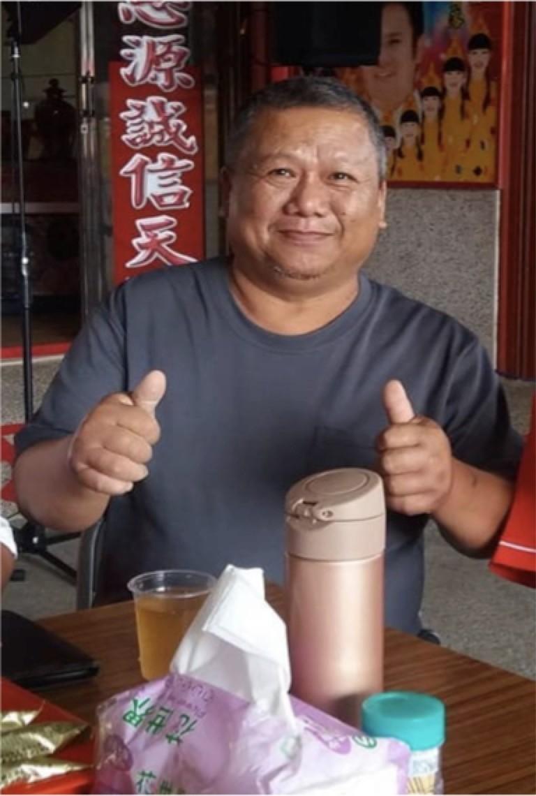 李先生術前近百公斤,肝癌、肝硬化、脂坊肝和3高。(記者蔡淑媛翻攝)