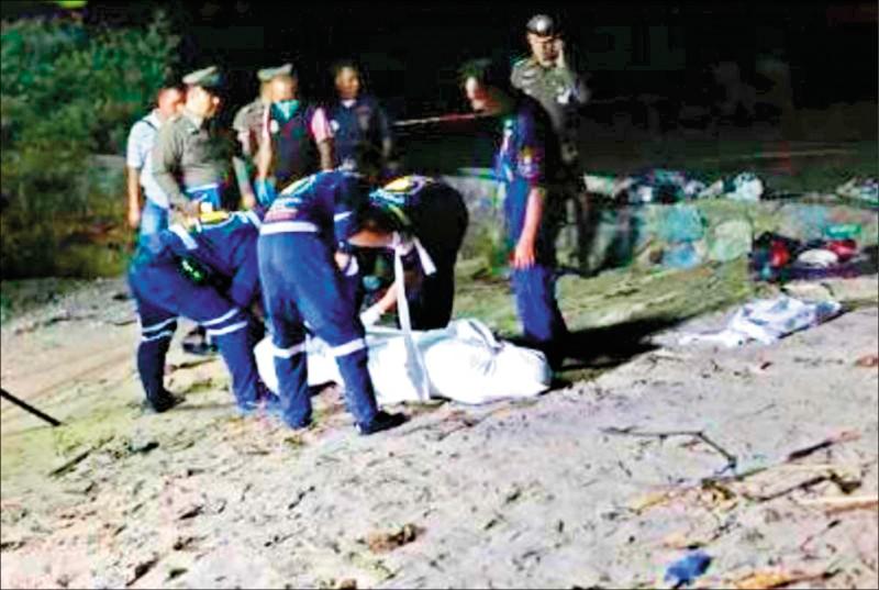 我國籍盧男5年前詐領旅行團團費與盜刷團員信用卡後潛逃泰國,日前涉嫌在泰國芭提雅殺妻,再將眼、口以膠帶封死,綑綁手腳裝入行李箱丟入海中,被泰國警方逮捕。(取自網路)