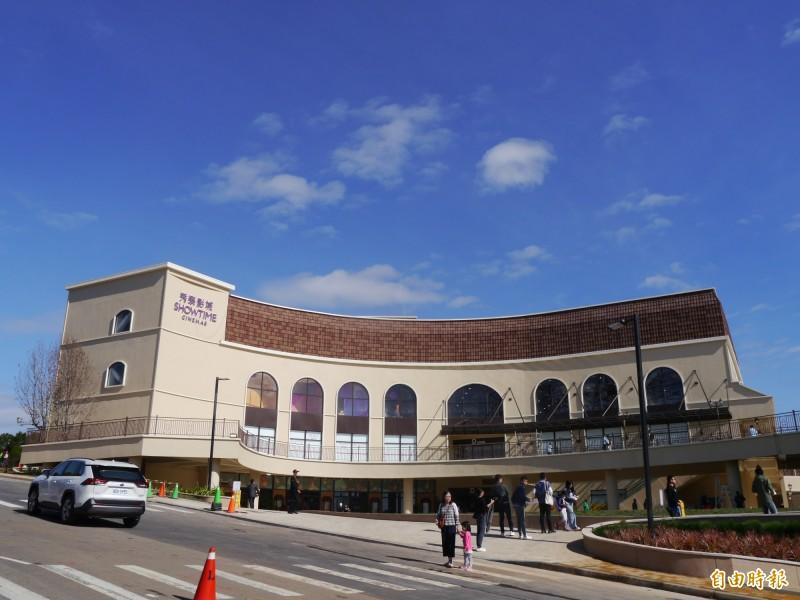 麗寶秀泰影城明天正式開幕。(記者張軒哲攝)