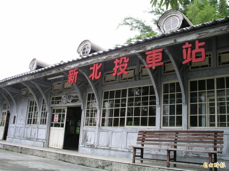 原矗立台灣民俗村園區的新北投車站已歸還給台北市政府。(資料照,記者湯世名攝)
