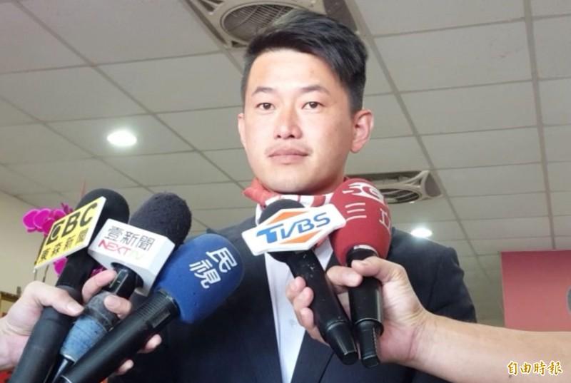 台中新科立委陳柏惟表示,若罷免他的理由說得通,這是民主的一種工具,自己會尊重。(記者陳建志攝)