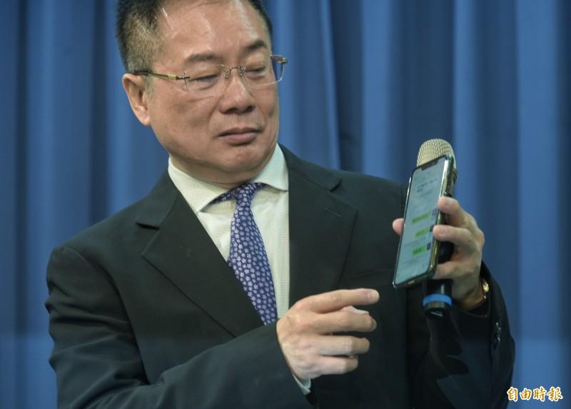 國民黨副秘書長蔡正元今(17日)透露,他曾建議國民黨前主席吳敦義把吳斯懷移出不分區安全名單,但卻未被採納。(資料照)