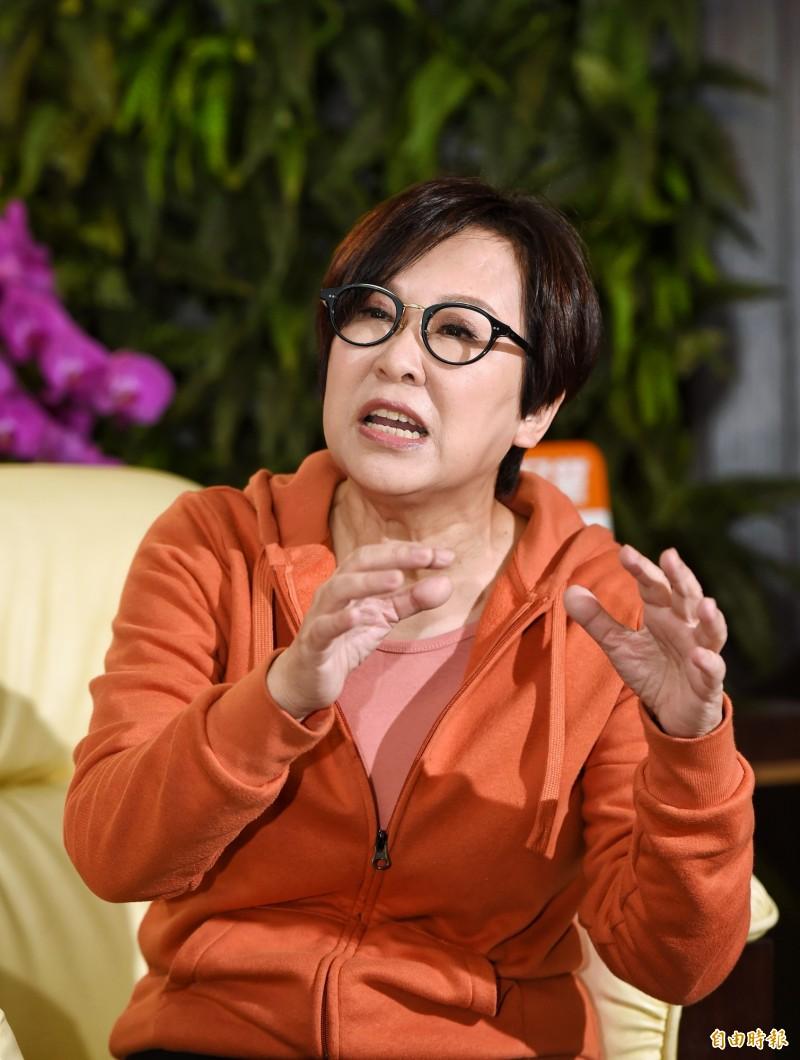 親民黨副總統候選人余湘(見圖)特別寫信給特勤中心基本編組人員,對於特勤人員在大選期間60天的盡忠職守與特勤工作專業表現表達感謝。(資料照)