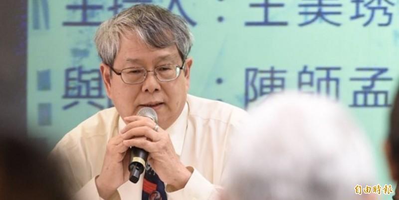 陳師孟辭去監察委員職務,總統蔡英文已經批准。(資料照)