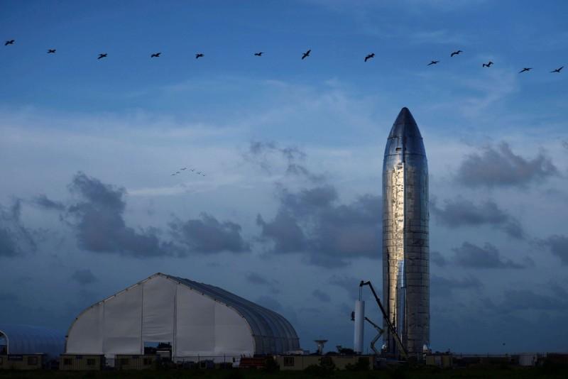馬斯克要用SpaceX星艦將人類送上火星。(路透)