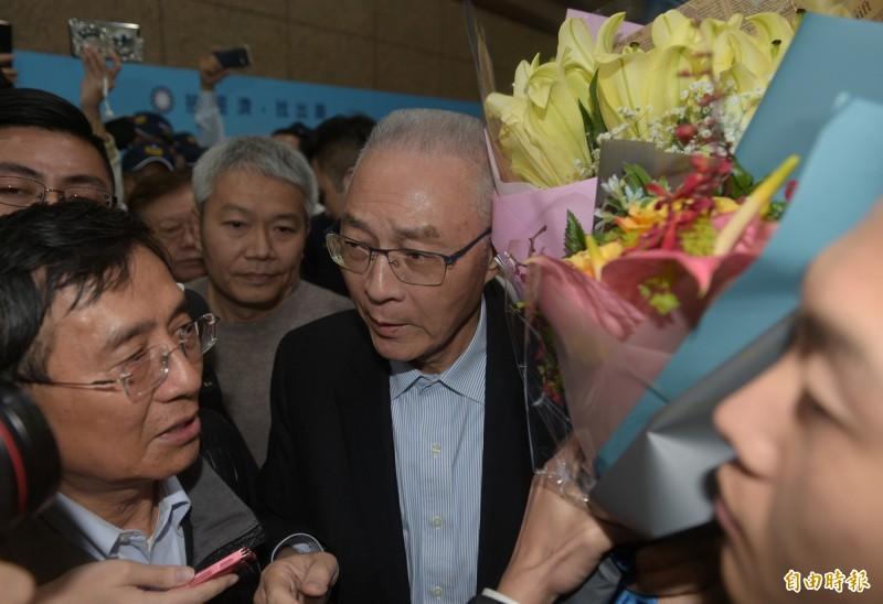 2020大選國民黨慘敗,前主席吳敦義請辭,預定3/7舉行補選。(資料照)