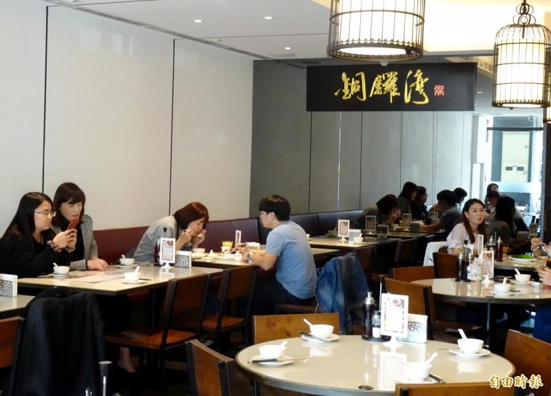 銅鑼灣港式餐廳已在台中市開業3年多。(記者張菁雅攝)