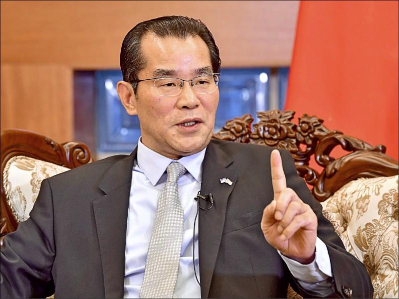 中國駐瑞典大使桂從友受訪時揚言,中國使館將拒絕核發簽證給部分瑞典記者。(法新社檔案照)