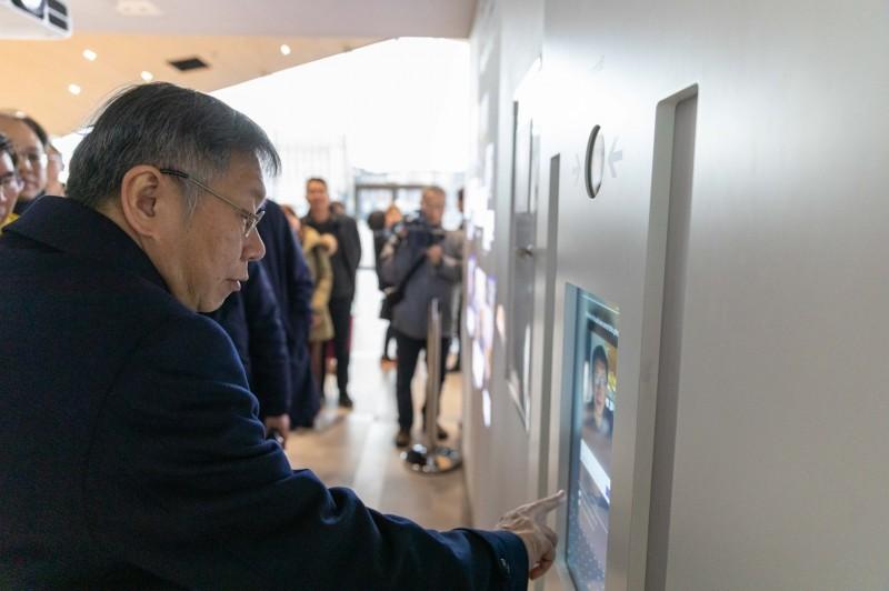 台北市長柯文哲目前正在歐洲參訪。(圖由台北市政府提供)