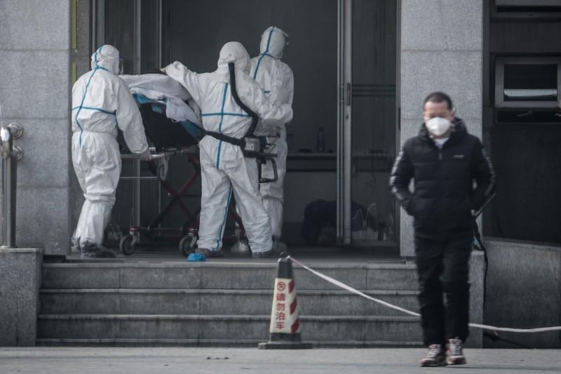 廣東省及北京市目前都已出現新型冠狀病毒感染的肺炎病例。(法新社)