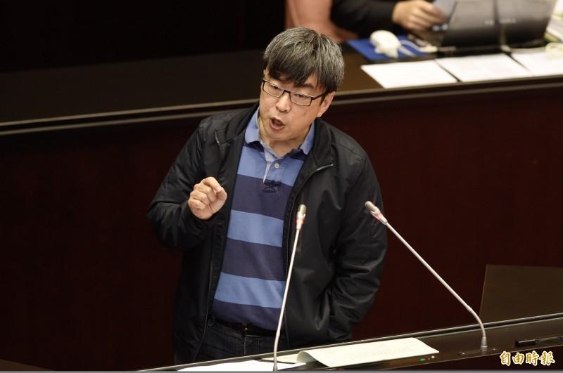 民進黨立委段宜康今日在臉書上宣告今後將退出政壇。(資料照)