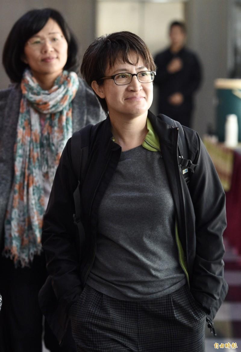 民進黨立法院黨團20日於台大醫院國際會議中心舉行餐敘,民進黨立委蕭美琴等人出席。(記者羅沛德攝)