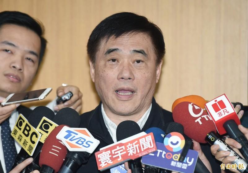 國民黨前副主席郝龍斌今晚正式發出聲明表示,將參選國民黨主席補選。(資料照,記者廖振輝攝)