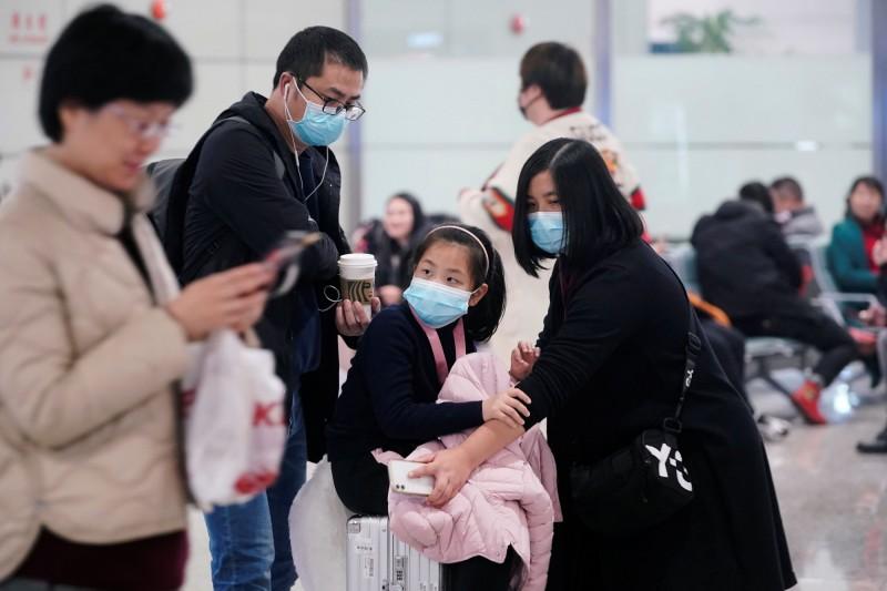 中國新型冠狀病毒肺炎疫情持續升溫,上海也出現首起確診病例。圖為上海虹橋國際機場。(路透)