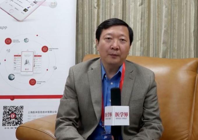 中國北大醫院醫師王廣發(見圖)10天前才掛保證稱「整體疫情處於可控制狀態」,今天證實已染上武漢肺炎,目前正在接受治療。(圖擷取自騰訊影片)