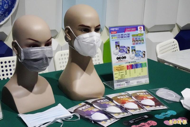 武漢肺炎疫情擴大,口罩需求量增加。(記者陳冠備攝)